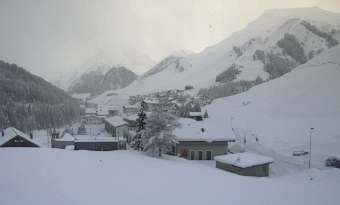 Samnaun, Switzerland – Weather to ski – Today in the Alps, 1 February 2017