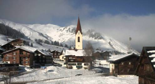 Warth am Arlberg, Austria – Weather to ski – Today in the Alps, 9 February 2017