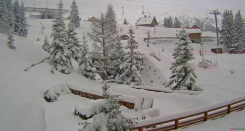 Méribel, France – Weather to ski – Today in the Alps, 7 March 2017
