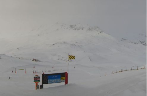 Val d'Isère, France – Weather to ski – Today in the Alps, 23 March 2017