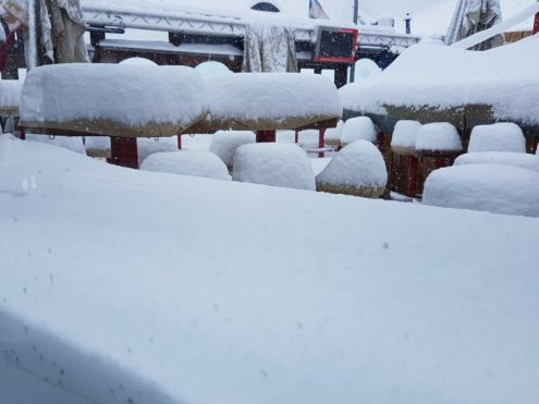 Livigno, Italy – Weather to ski – Today in the Alps, 28 April 2017
