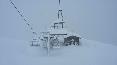 Retour d'Est, Val Cenis, France - Weather to ski - How snow-sure and weatherproof is Val Cenis?