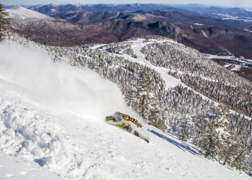 Jay Peak, Vermont, USA – Weather to ski – Who got the most snow in North America in 2016-17
