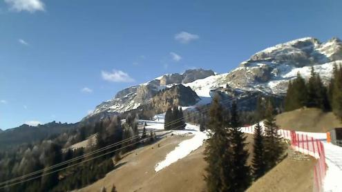 Corvara, Italy - 11 January 2017 - Weather to ski - Who got the most snow in the Alps in 2016-17?