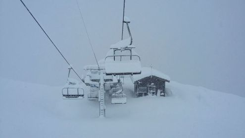 Val Cenis, France – 25 November 2016 – Weather to ski – Who got the most snow in the Alps in 2016-17?