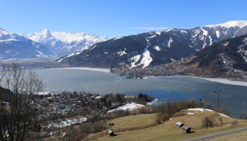 Zell-am-See, Austria – 11 March 2017 – Weather to ski – Who got the most snow in the Alps in 2016-17?