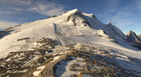 Tignes, France – Weather to ski – Today in the Alps, 4 October 2017