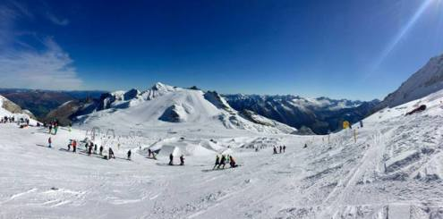 Hintertux, Austria – Weather to ski – Today in the Alps, 4 October 2017