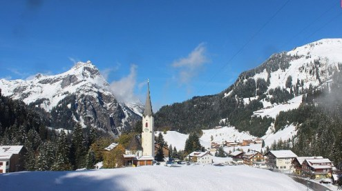 Schröcken, Austria – Weather to ski – Today in the Alps, 7 October 2017