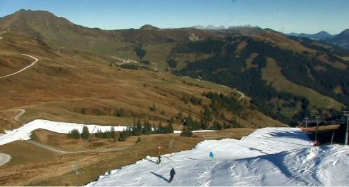 Kitzbühel, Austria – Weather to ski – Today in the Alps, 15 October 2017
