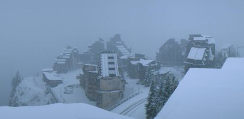 Avoriaz, France – Weather to ski – Today in the Alps, 5 November 2017