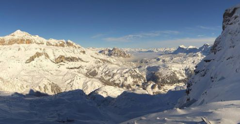 Arabba, Italy – Weather to ski – Today in the Alps, 8 November 2017