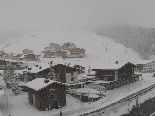 Lech, Austria – Weather to ski – Today in the Alps, 13 November 2017