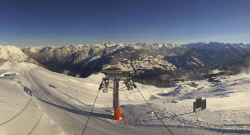 Golm, Austria – Weather to ski – Today in the Alps, 14 November 2017