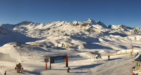 Val d'Isère, France – Weather to ski – Today in the Alps, 27 November 2017
