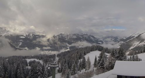 Les Diablerets, Switzerland – Weather to ski – Today in the Alps, 29 November 2017