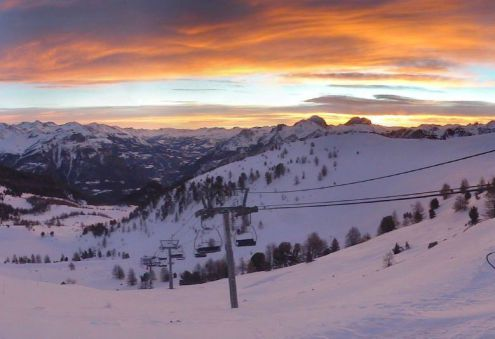 St Jean de Montclar, France – Weather to ski – Today in the Alps, 22 December 2017