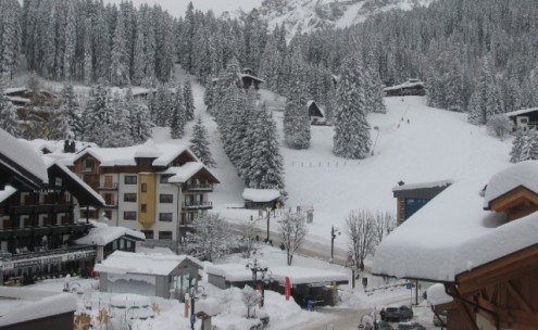 Madonna di Campiglio, Italy – Weather to ski – Today in the Alps, 28 December 2017