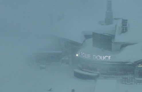 Val d'Isère, France – Weather to ski – Today in the Alps, 4 January 2018