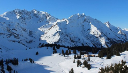 Warth-Schröcken, Austria – Weather to ski – Today in the Alps, 14 January 2018