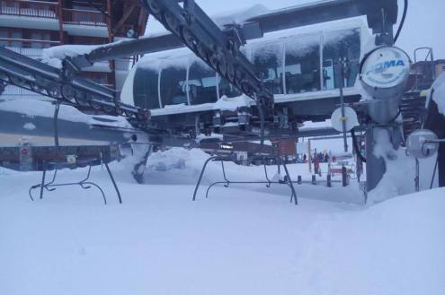 Les Arcs, France – Weather to ski – Today in the Alps, 19 January 2018