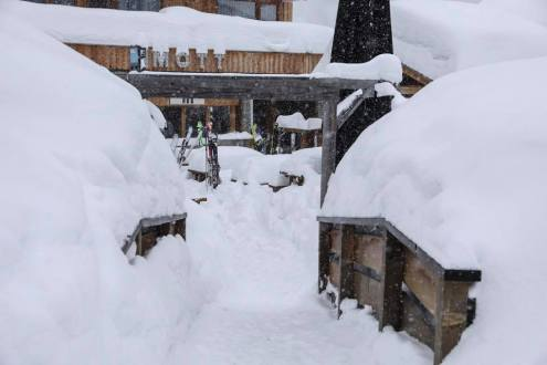 Méribel, France – Today in the Alps, 21 January 2018