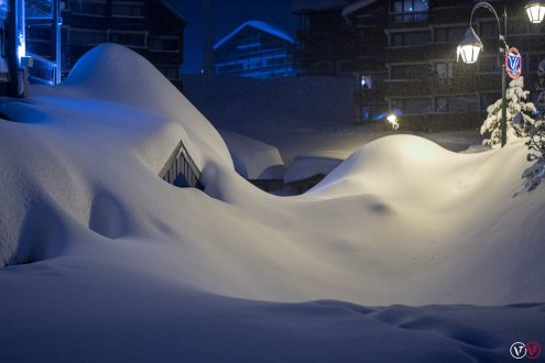 Val Thorens, France – Weather to ski – Today in the Alps, 22 January 2018