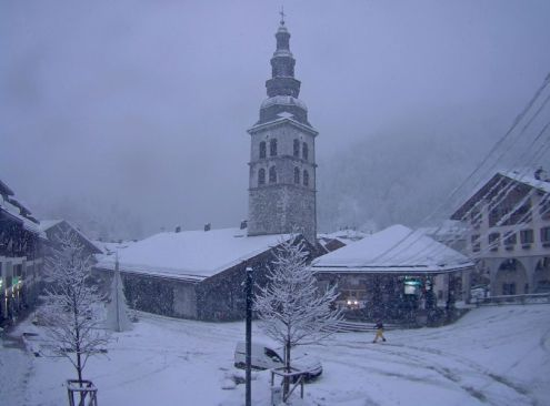 La Clusaz, France – Weather to ski – Today in the Alps, 1 February 2018