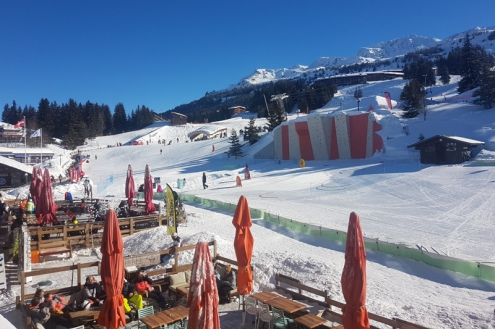 Arc 1800, France – Weather to ski – Today in the Alps, 13 February 2018