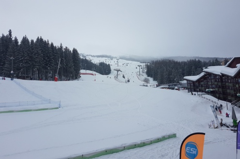Arc 1800, France – Weather to ski – Today in the Alps, 15 February 2018