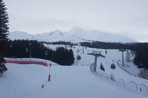 Les Arcs, France – Weather to ski – Today in the Alps, 16 February 2018