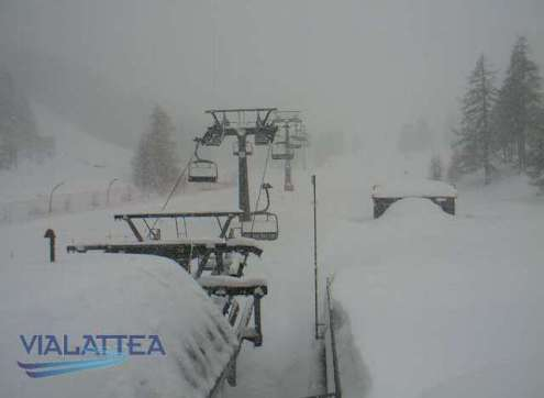 Sestriere, Italy – Weather to ski – Today in the Alps, 24 February 2018