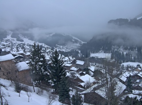 Châtel, France – Weather to ski – Today in the Alps, 6 March 2018