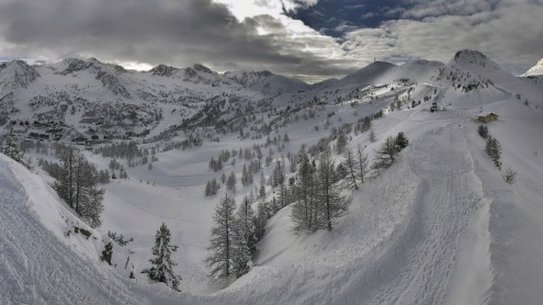Isola 2000, France – Weather to ski – Today in the Alps, 13 April 2018