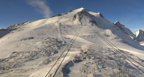 Grande Motte glacier, Tignes, France – Weather to ski – Today in the Alps, 2 October 2018