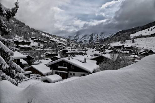 La Clusaz, France – Weather to ski – Who got the most snow in the Alps in 2017-18?