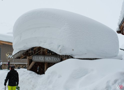 Val Thorens, France – Weather to ski – Who got the most snow in the Alps in 2017-18?