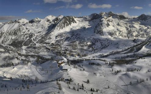 Isola 2000, France – Weather to ski - Who got the most snow in the Alps in 2017-18?