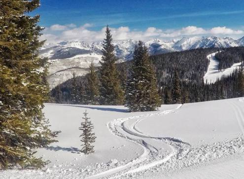 Vail, Colorado, USA – Weather to ski – Who got the most snow in North America in 2017-18?