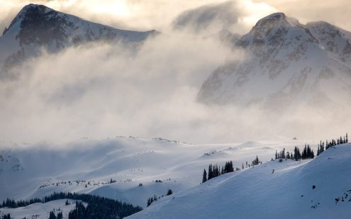 Whistler, Canada – Weather to ski – Who got the most snow in North America in 2017-18?