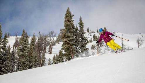 Jackson Hole, Wyoming, USA – Weather to ski – Who got the most snow in North America in 2017-18?