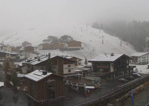 Lech, Austria – Weather to ski – Today in the Alps, 27 October 2018