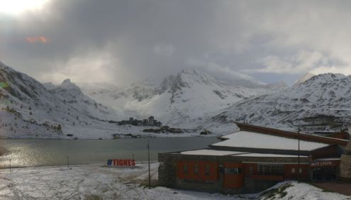 Tignes, France – Weather to ski – Today in the Alps, 5 November 2018