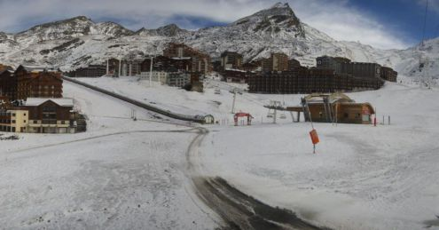 Val Thorens, France – Weather to ski – Season progress report, 7 November 2018