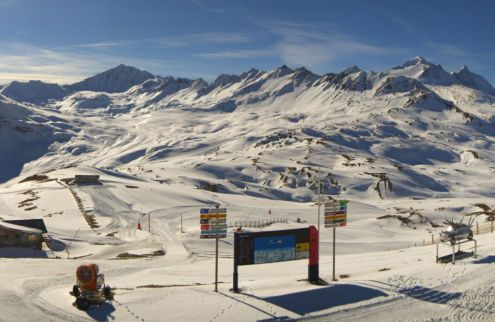 Val d'Isère, France – Weather to ski – Today in the Alps, 14 November 2018