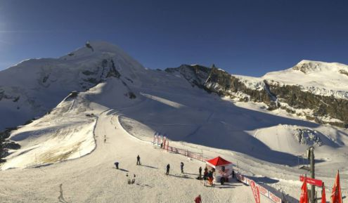 Saas-Fee, Switzerland – Weather to ski – Today in the Alps, 16 November 2018