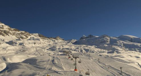 Cervinia, Italy – Weather to ski – Today in the Alps, 22 November 2018