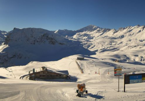 Val d'Isère, France – Weather to ski – Today in the Alps, 22 November 2018