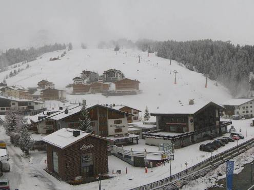 Lech, Austria – Weather to ski – Today in the Alps, 27 November 2018
