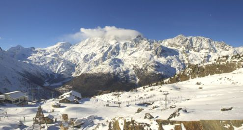 Saas-Fee, Switzerland – Weather to ski – Today in the Alps, 28 November 2018